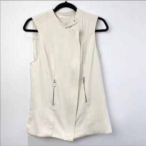 Aritzia Babaton Redford Cream vest